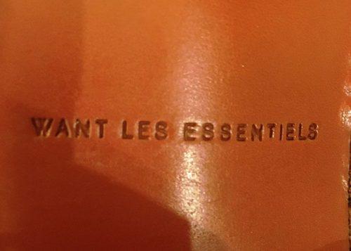Want Les Essentiels  Brand Logo