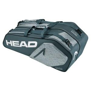 Raqueteira Head Core 6R Combi Cinza