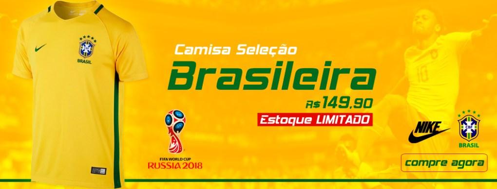 Camisa Nike Seleção Brasileira