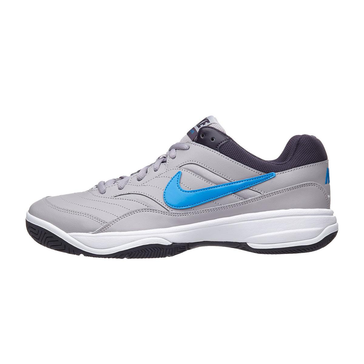 cdcf337921 Tênis Nike Court Lite Cinza e Azul - Empório do Tenista