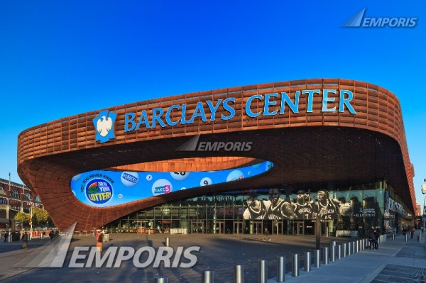 Barclays Center is a multi-purpose indoor arena in ...