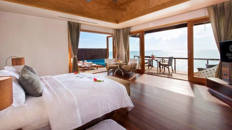 Hideaway Beach Resort Deluxe Water Villa With Pool Dhonakulhi Island