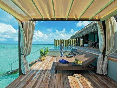 Velaa Private Island Beach Pool Villa Maldives