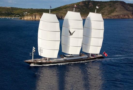 Maltese Falcon Metolius Cabins Caribbean & Bahamas