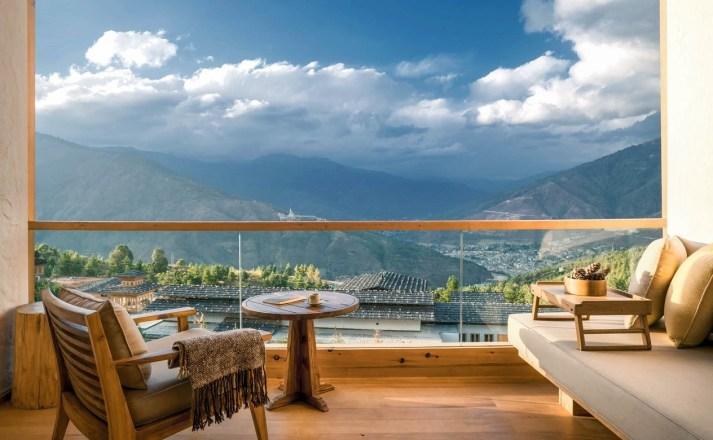 Luxury Hotel Six Senses Lodge Suite Thimphu Bhutan