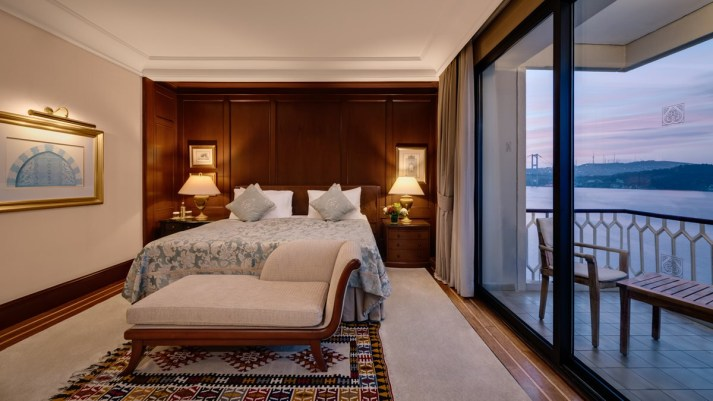 Luxury Ciragan Palace Kempinski Pasha & Presidential Suite Istanbul Turkey