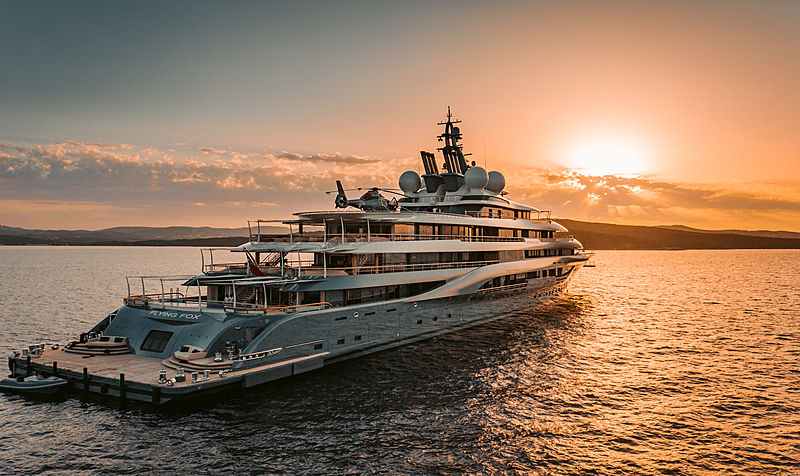 Megayacht Flying Fox- Superyacht for Charter