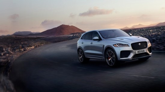 Jaguar introduces the faster, much more extravagant 2021 F-PACE SVR