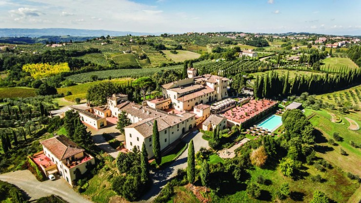Italy-Thermal Baths and Italian Wine