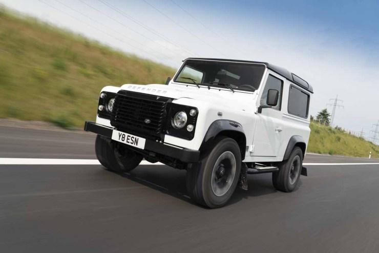 Land Rover's New Defender V8 SUV