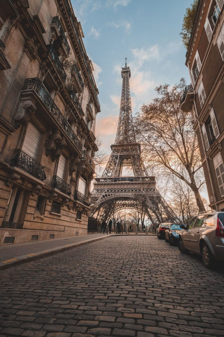 The Capital of France and the Most Romantic Town in the World-Paris