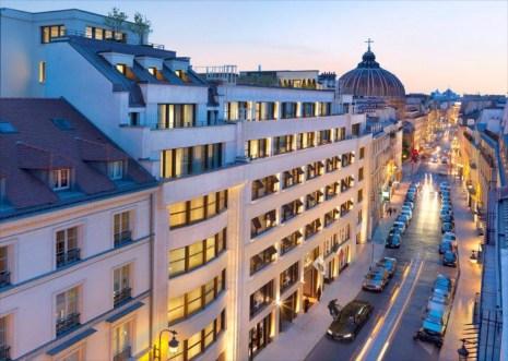 Luxury Hotel Mandarin Oriental Paris