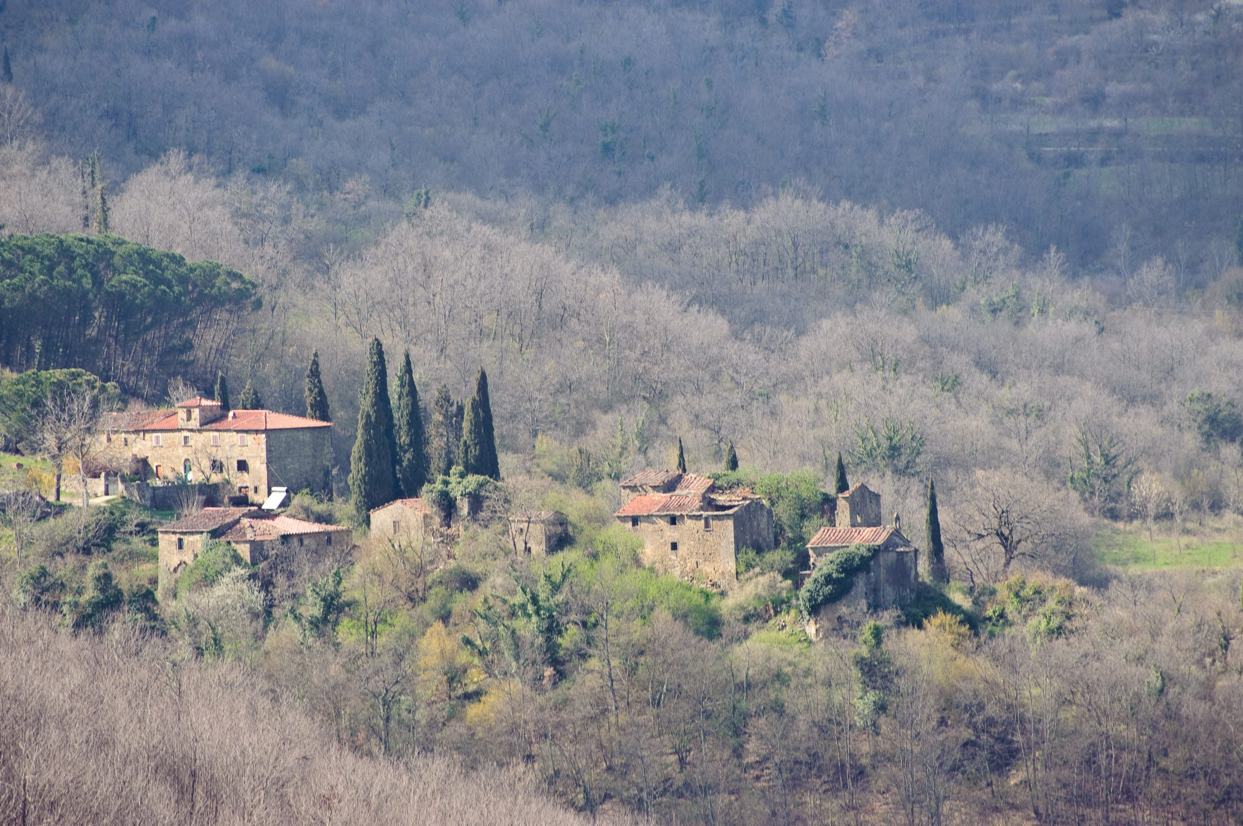 Italy-From Nepal to Tuscan Countryside