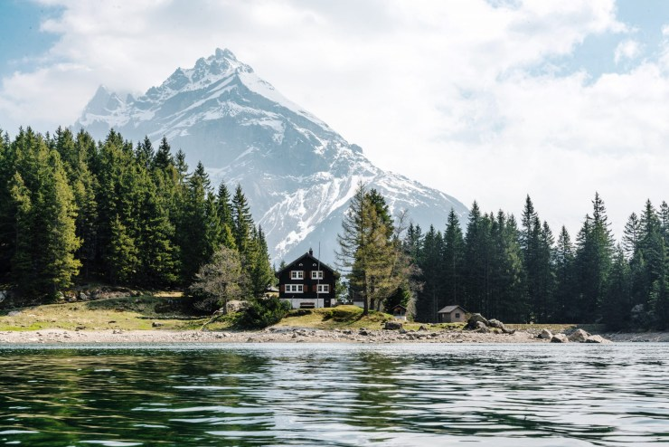 The Mountainous Central European Country-Switzerland
