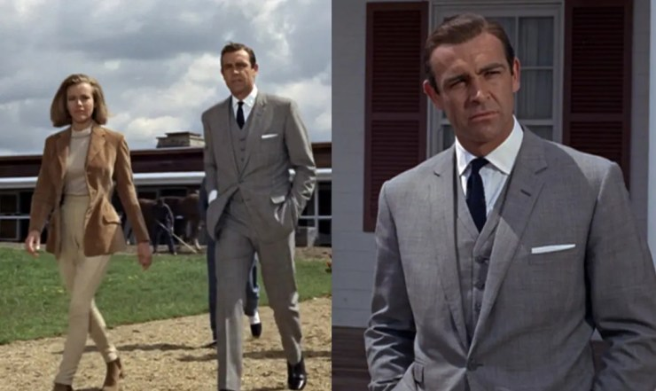 Iconic 'Goldfinger' Suit Reissued by the Original James Bond's Tailor