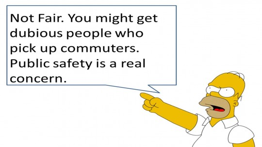 Are taxi drivers really safer?