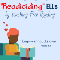 Prevent readiciding ELLs by teaching Free Reading