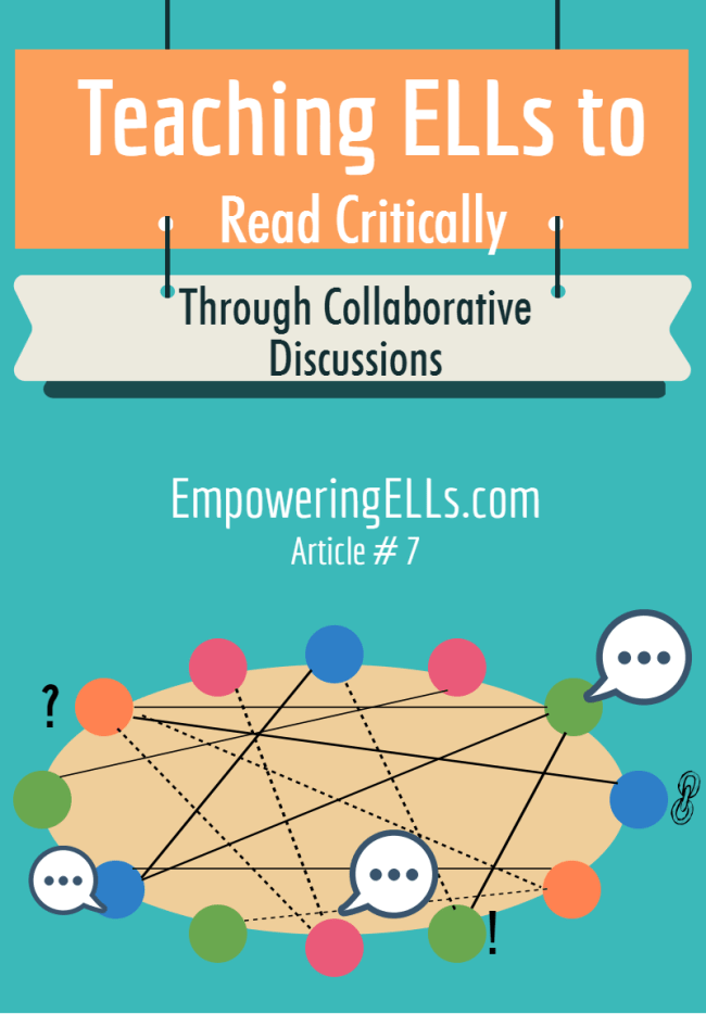 Harkness Discussions for critical reading with ELLs