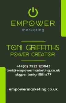 Empower Business Card example