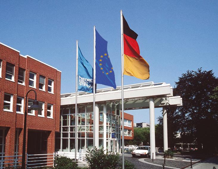 Die Friedrich-Ebert-Stiftung in Bonn © FES