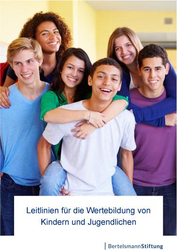 Leitlinien Wertebildung © Bertelsmann Stiftung