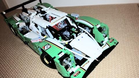 レゴ テクニック 耐久レースカー