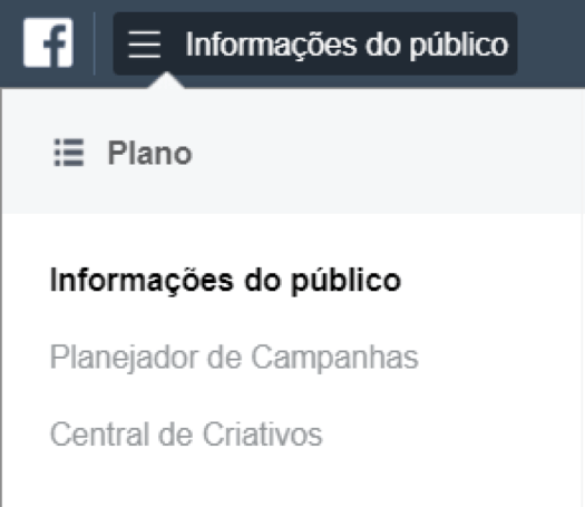 informacoes do publico facebook