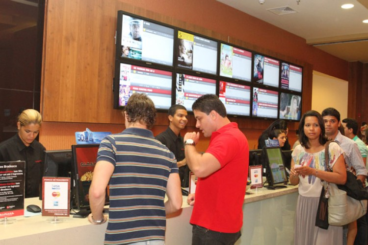 CINEMARK VAGAS PARA ATENDENTE - R$1.040,00 - COM E SEM EXPERIENCIA - RIO DE JANEIRO