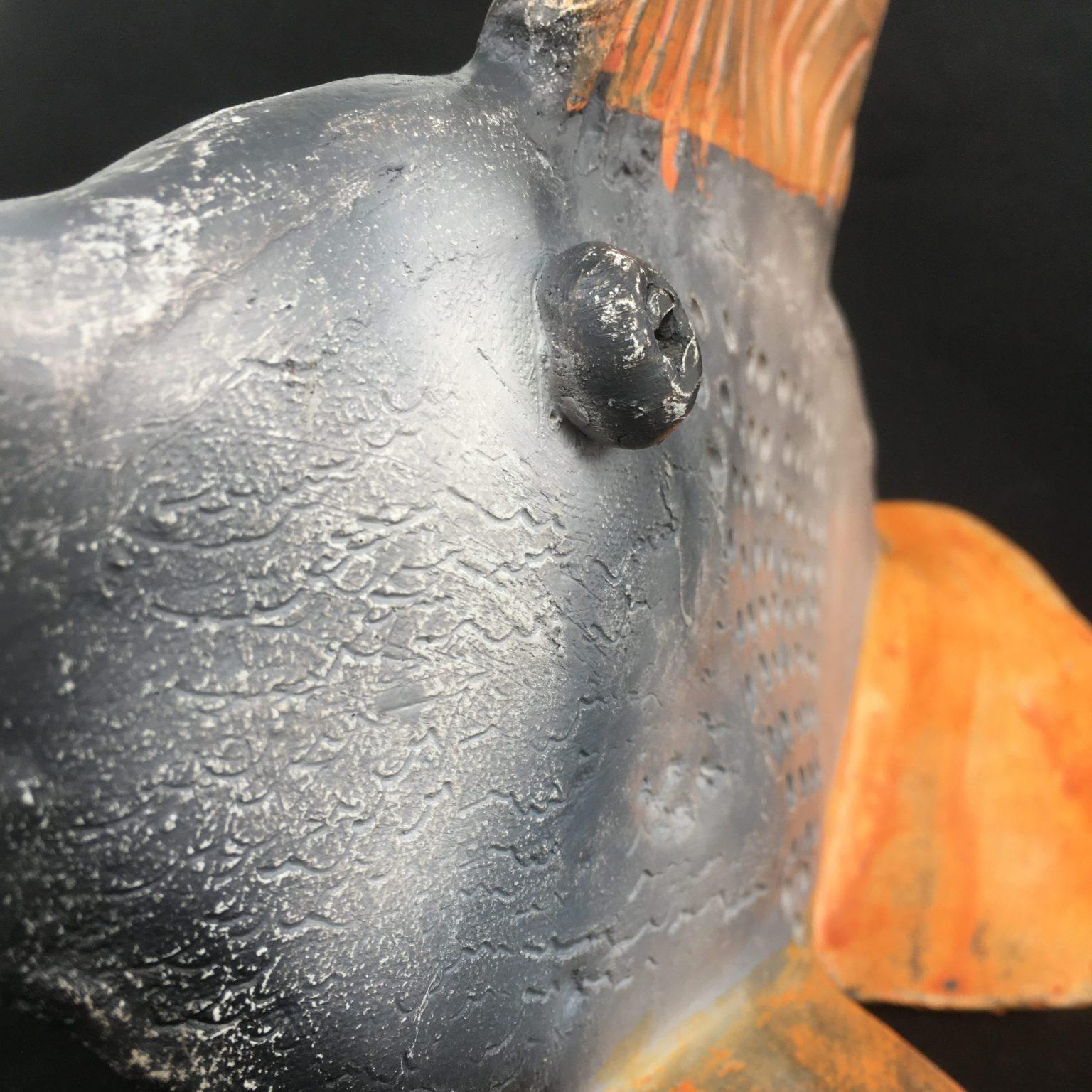poissson rouge gres et terra sigillée