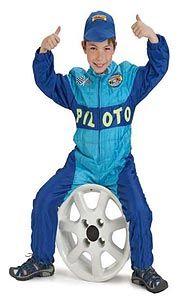 Disfraz infantil piloto F1