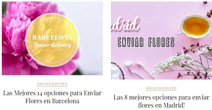Mejores floristerías de España