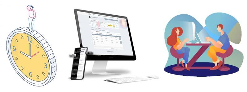 Software control de horarios