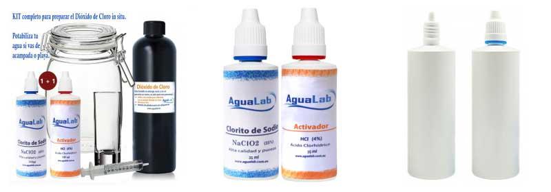 Potabilizar el agua con clorito de sodio