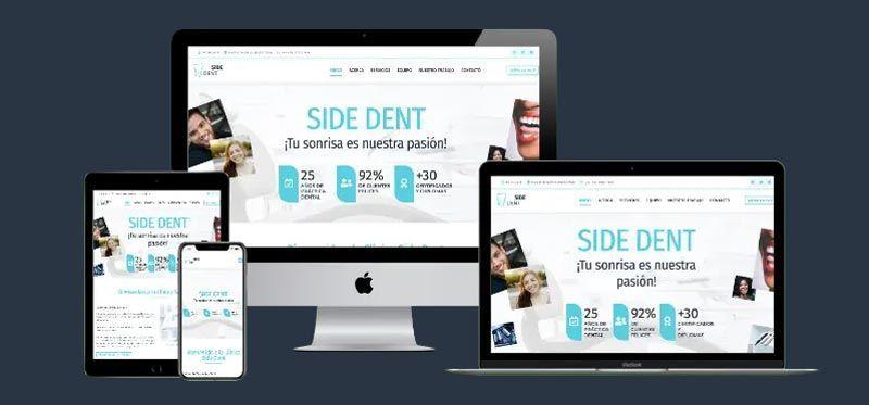 Diseño web generación de leads