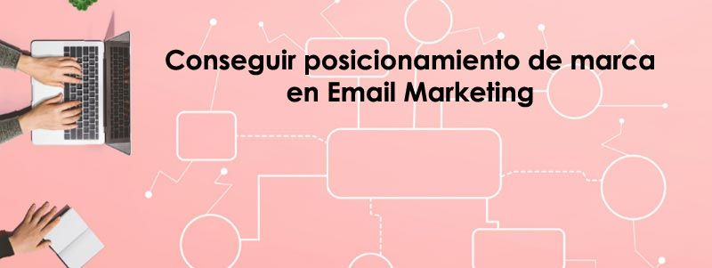 Posicionamiento de marca Email Marketing