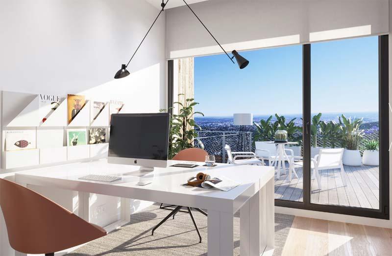 Oficina en loft Madrid