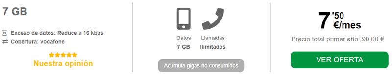 Ofertas tarifas móvil