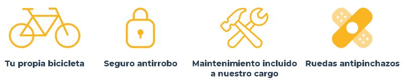 Servicios de suscripción bicicletas en Barcelona