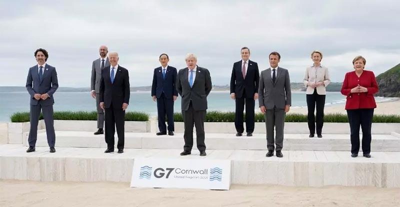 Última reunión G7