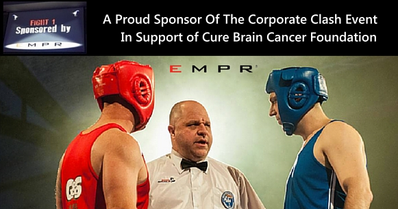 EMPR Sponsors Corporate Clash in Macarthur in support of Cure Brain Cancer Foundation
