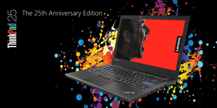 25th Anniversary Edition ThinkPad Packs Serious Power - EMPR