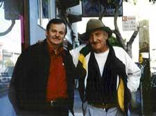 A.D. Winans & Jack Micheline in 1996.