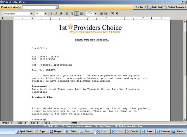 emr letter | Ownerletter.co