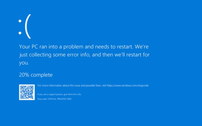 Bütün Windows Hataları (Errors) ve Açıklamaları