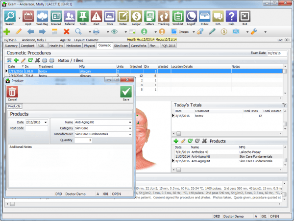 Compulink Dermatology Advantage EMR Software Latest ...
