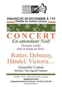 Concert 24 novembre 2013
