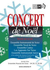 Concert 14 décembre 2014