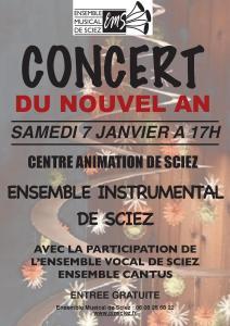 Concert 7 janvier 2017