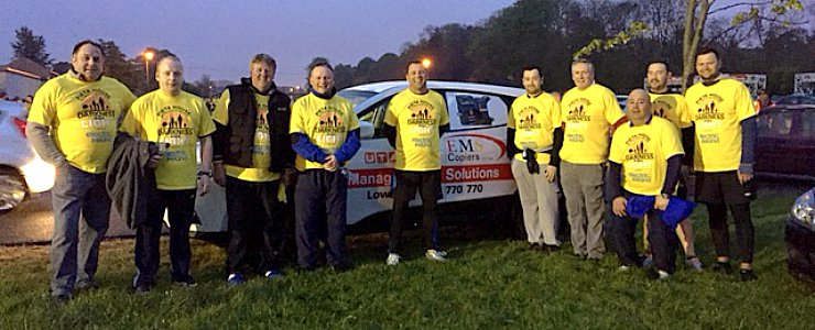 EMS Copiers at Darkness Into Light