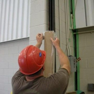 Fire rated wall expansion joint GE Turbine EHSHIELD WFR2 Installation
